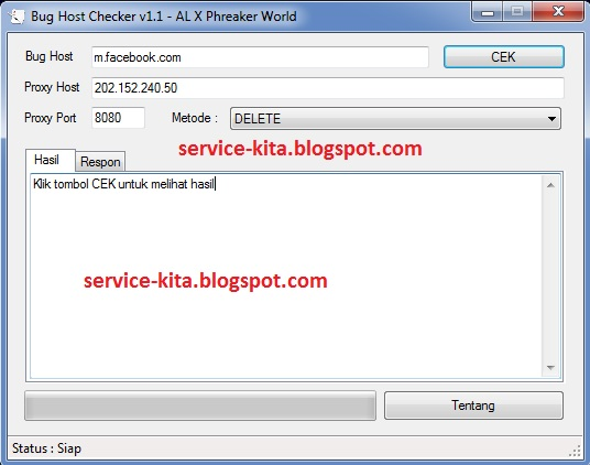 Tutorial Membuat Injector Host Operator Telkomsel, Indosat