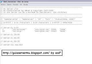 [Guia] Crear servidor MU Online 1