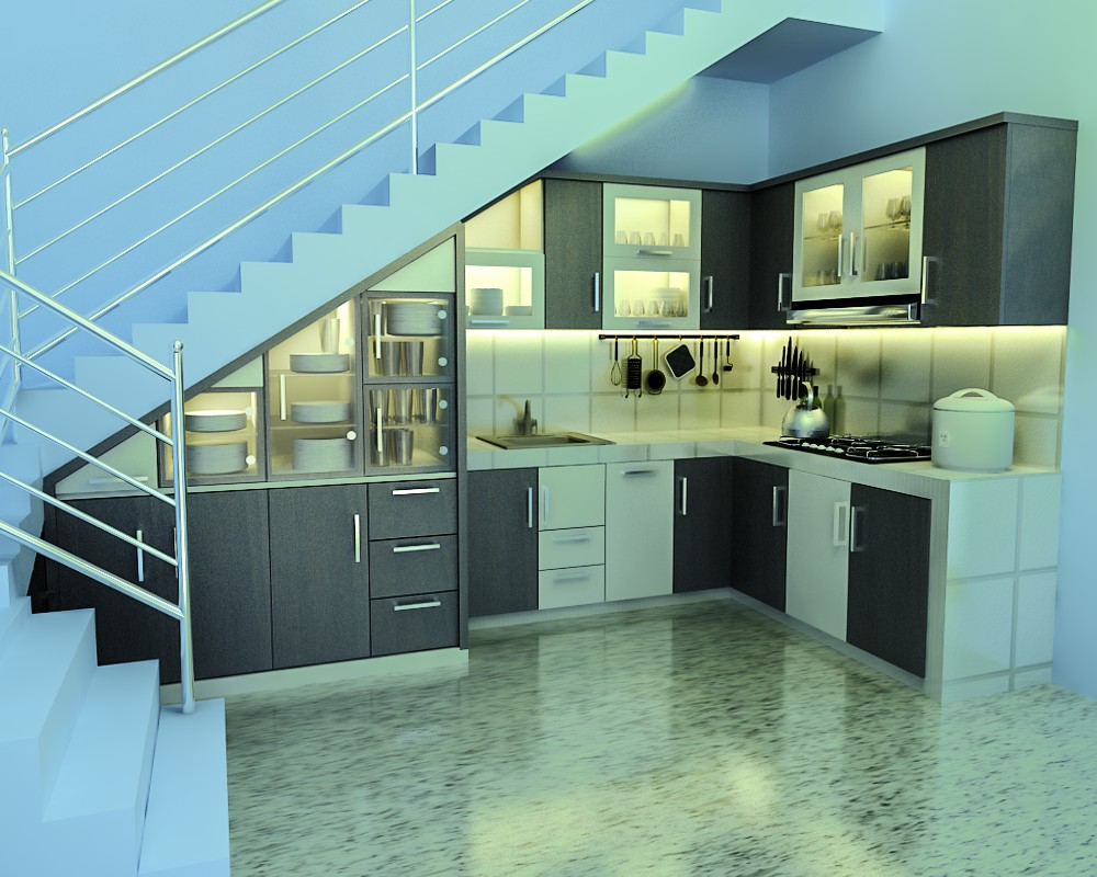 Interior design malang kitchen set minimalis di kota malang for Kitchen set malang