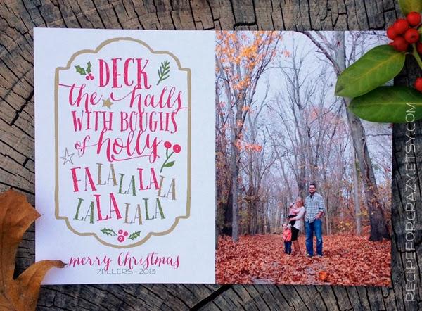 Christmas Card Template For Photographers Christmas Card Template