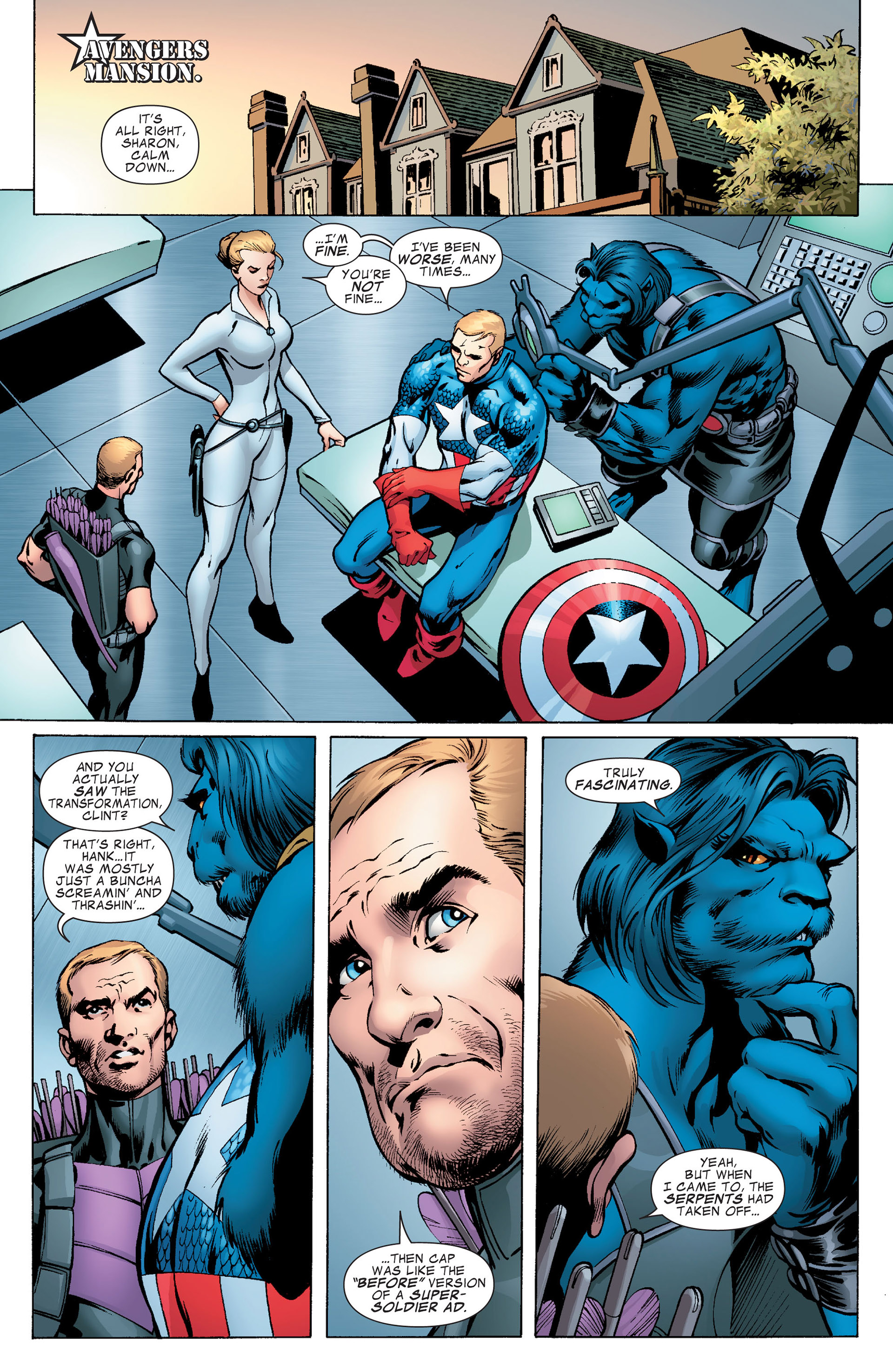 Captain America (2011) Issue #7 #7 - English 6
