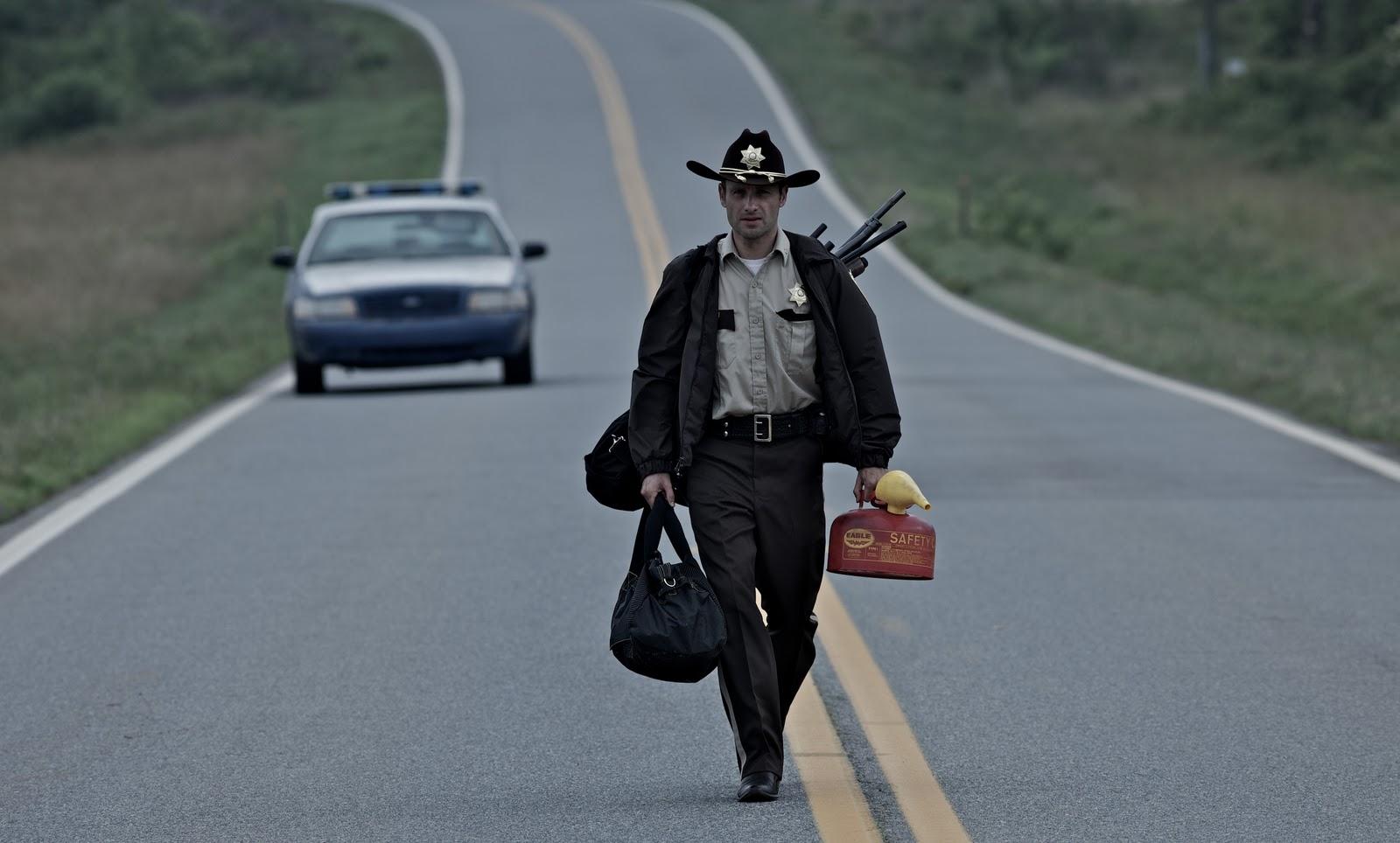 """The Walking Dead (2010)"""" ZOMBIES AL DESNUDO"""