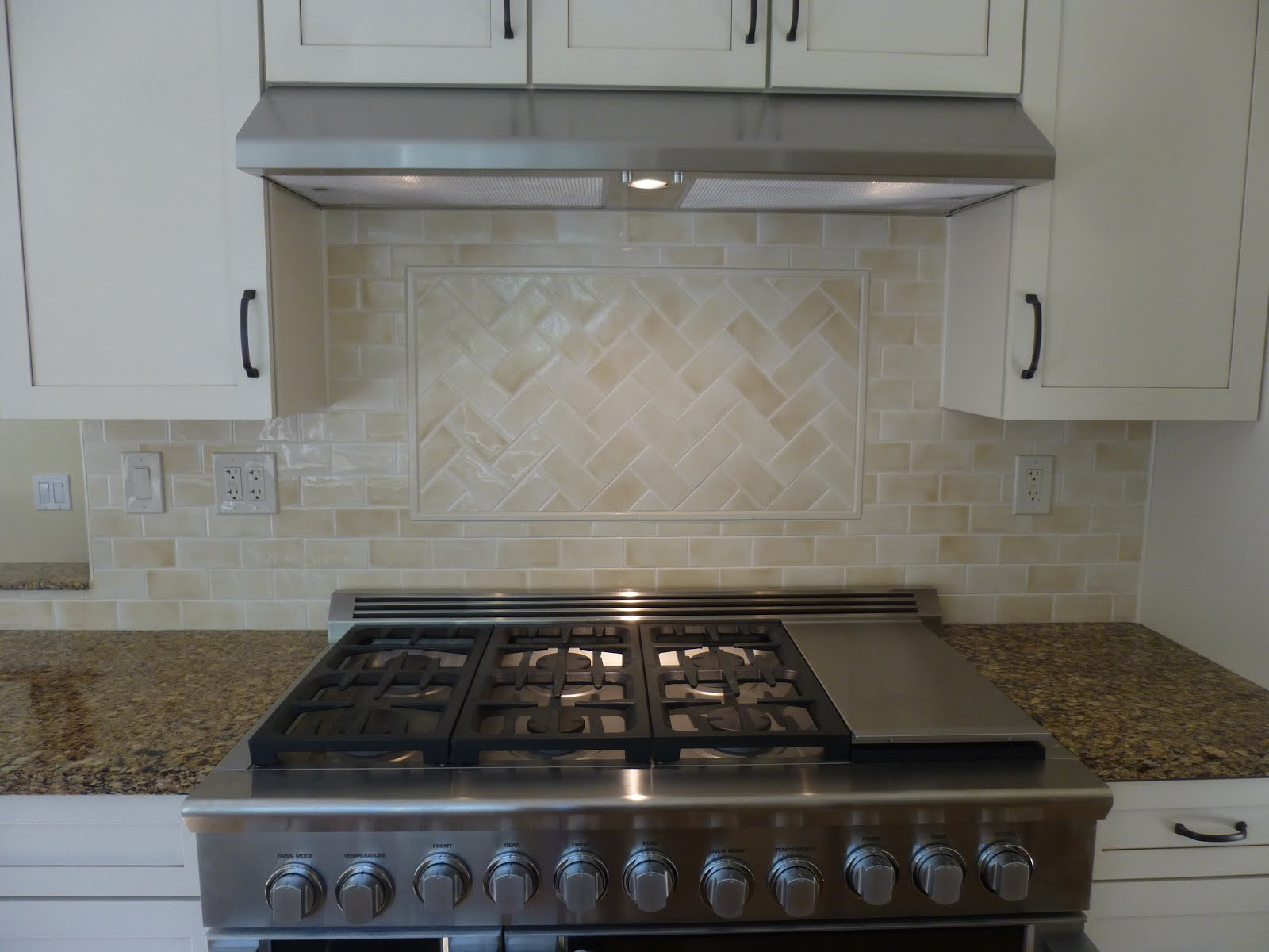 Ceramic Tile Kitchen Splash
