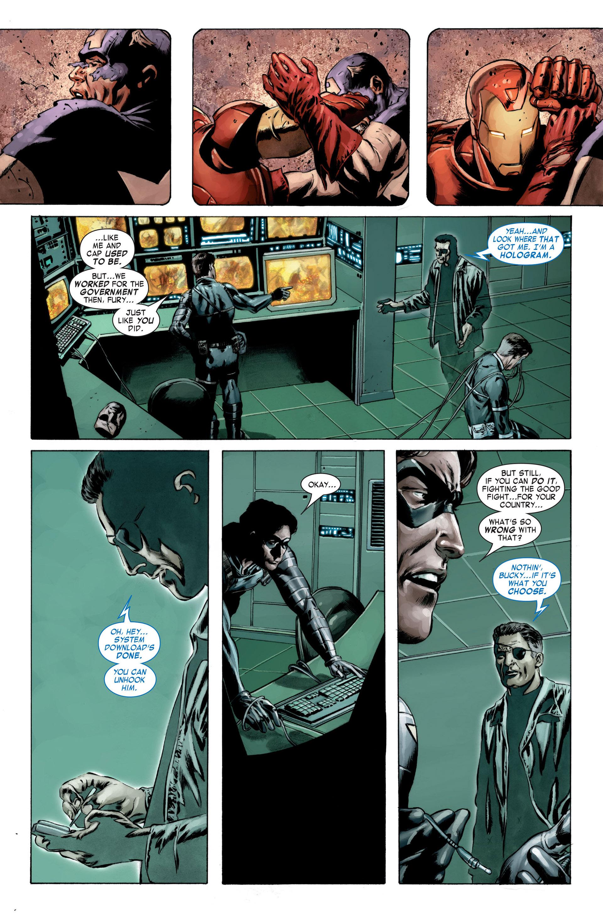 Captain America (2005) Issue #23 #23 - English 10
