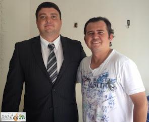 Entrevista com o Presidente da Câmara de Vereadores de Campo Grande/RN – Biênio 2013-2014