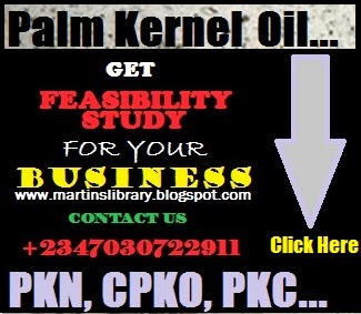 PALM KERNEL NUT AND OIL BUSINESS