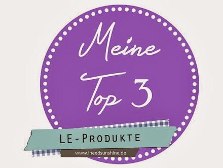 Platz an der Sonne - Meine Top 3 LE-Produkte