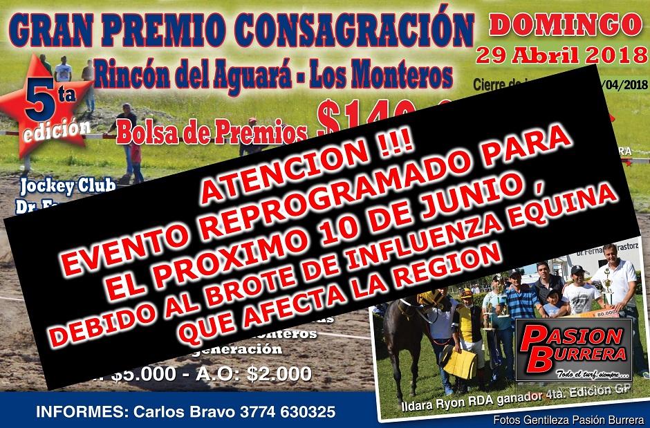 CURUZU 10 junio - GP CONSAGRACION RDA-LM