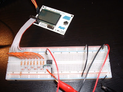 The ATmega Butterfly and a lone DAC