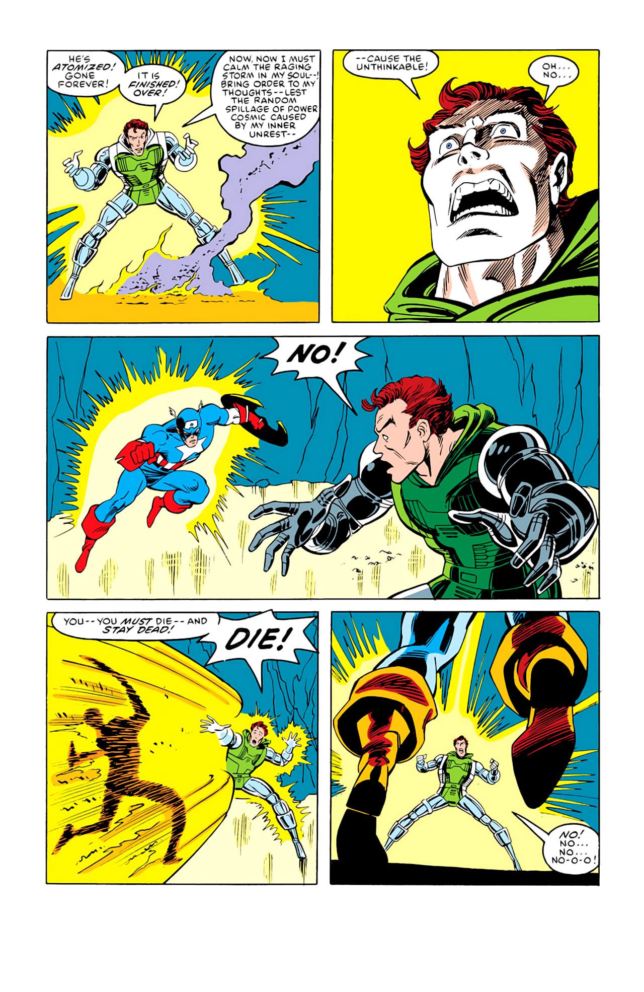 Captain America (1968) Issue #292m #220 - English 30