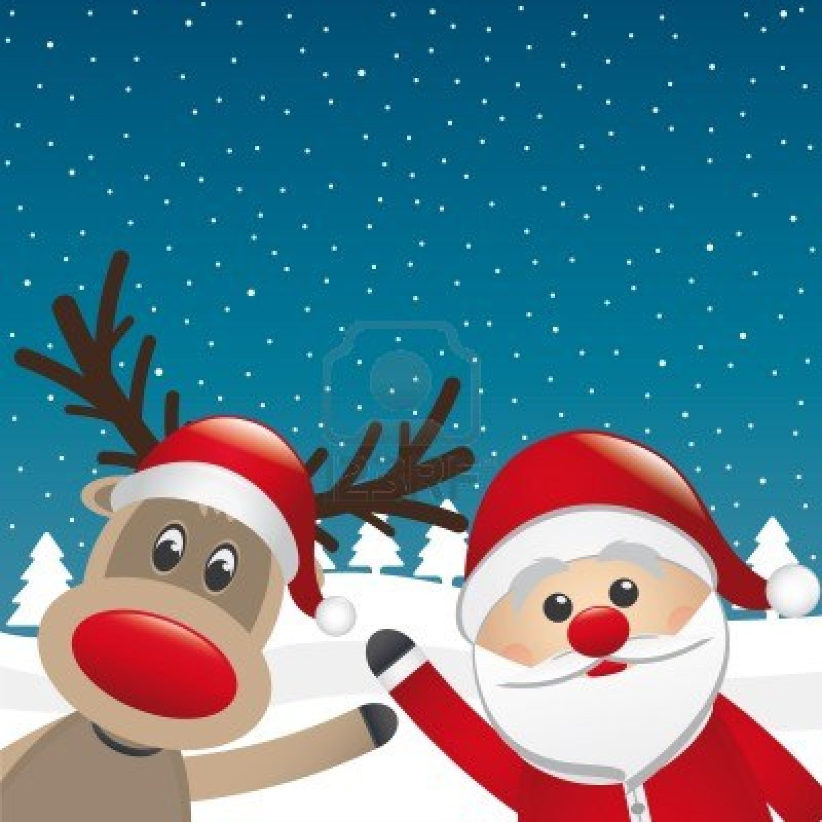Displaying 17> Images For - Santa And Reindeer...