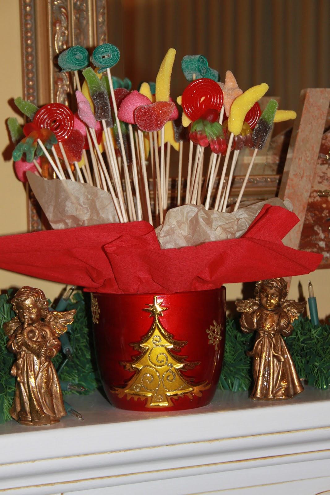 Tartas de chucherias y pa ales originales para los peques de la casa centros navide os - Centros navidenos originales ...