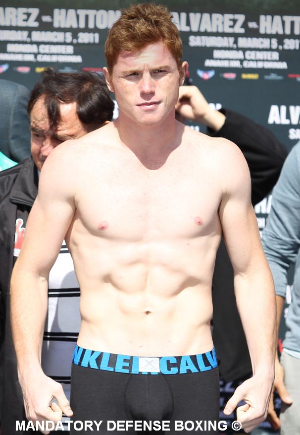 TopOveralls: canelo alvarez vs hatton - photos
