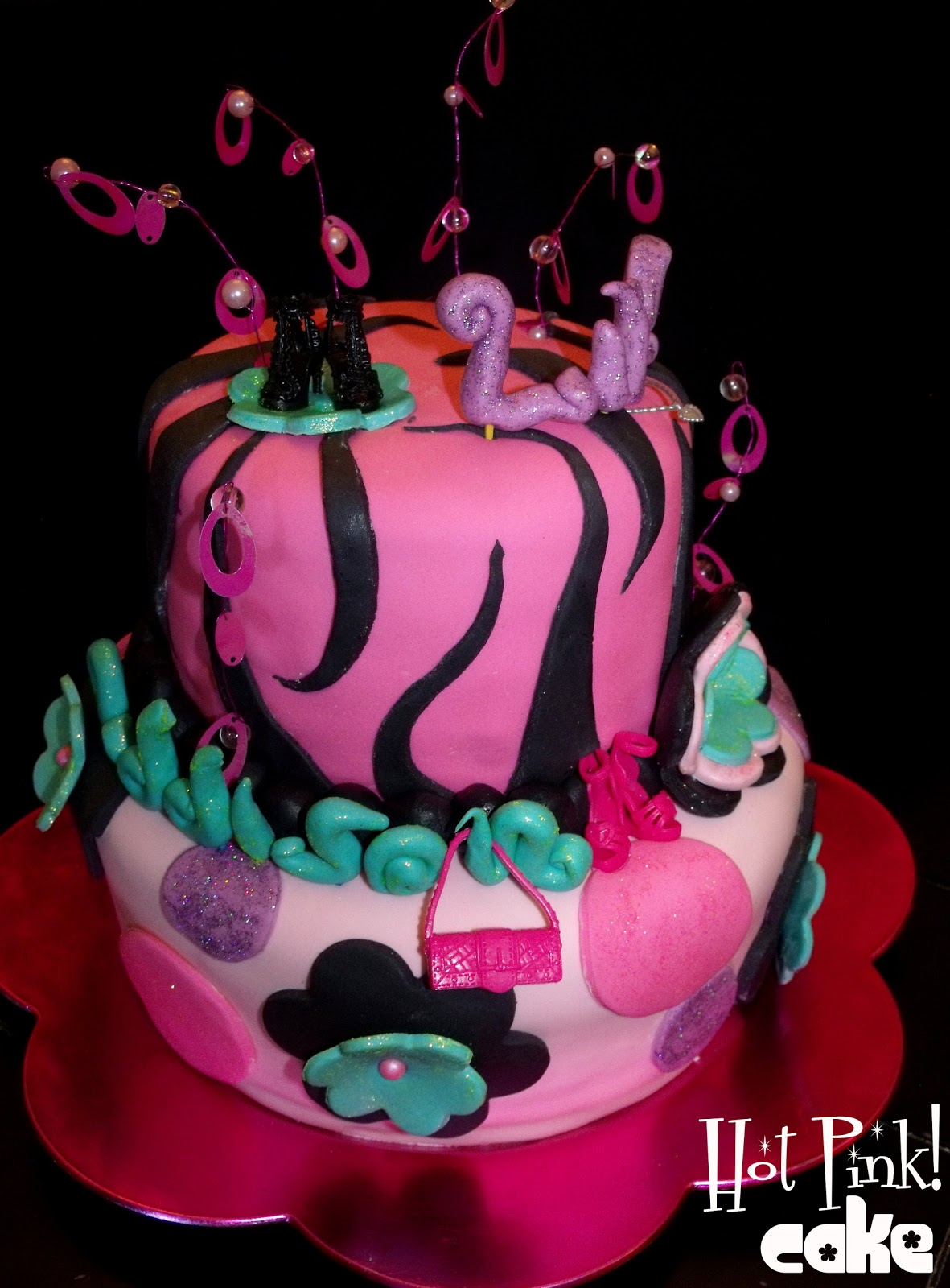Hot Pink Cakes Super Girly Cake
