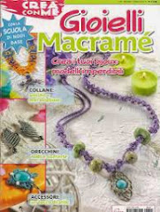 """Crea con me:pubblicazioni Macramè """"crea con me nr4"""""""