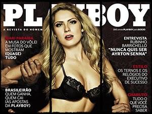 Renata Davila Nua Na Revista Playboy