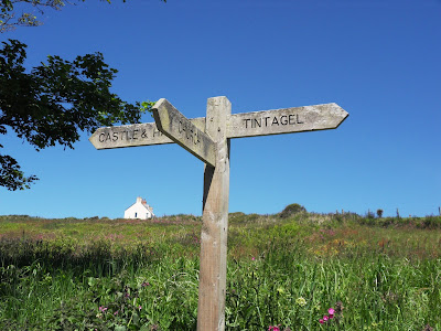 Sign Posts to Tintagel Castle