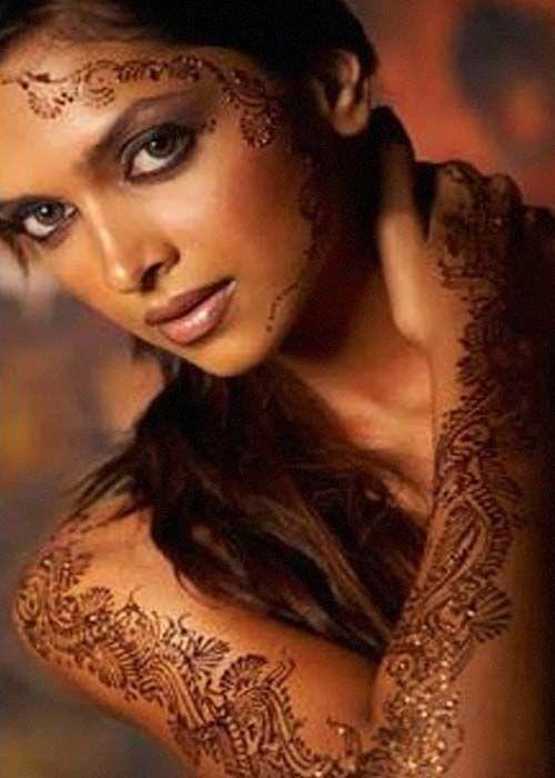 Face Mehndi Design - Mehandi Design,Heena Designs,Indian Mehandi
