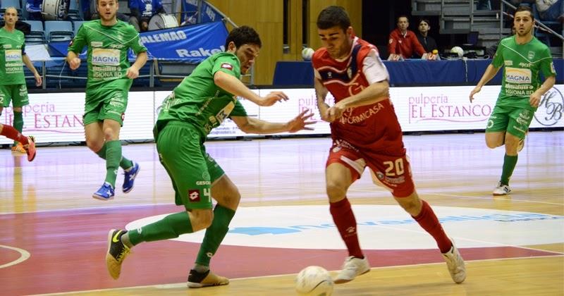 Santiago Futsal ganó al Magna Navarra en el partido de la jornada