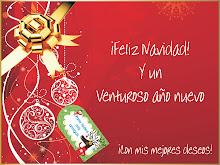 ¡¡FELIZ NAVIDAD Y UN 2013 REGADO DE PAZ Y AMOR!!