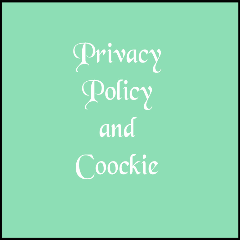 Privacy Policy and Coockie