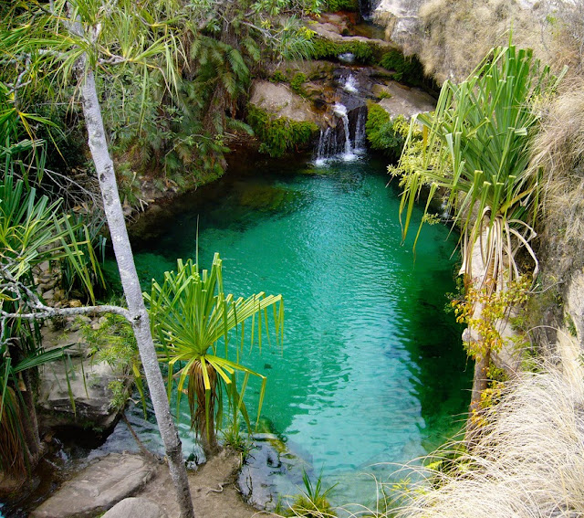 Pools of Isalo Park, Madagascar