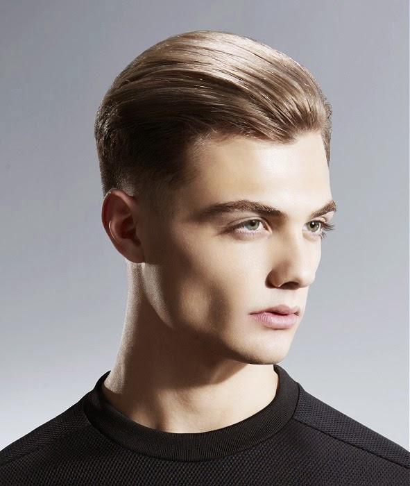 pelo corto peinado para atrs