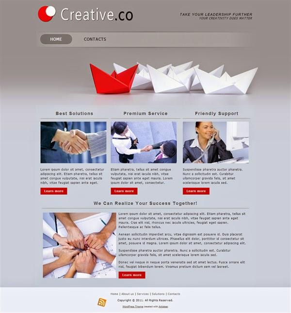 Creative Co - Free Wordpress Theme