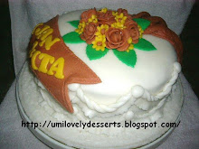 hANtaRAn/ pERtuNGan CAke WIth FOndANt iCIng