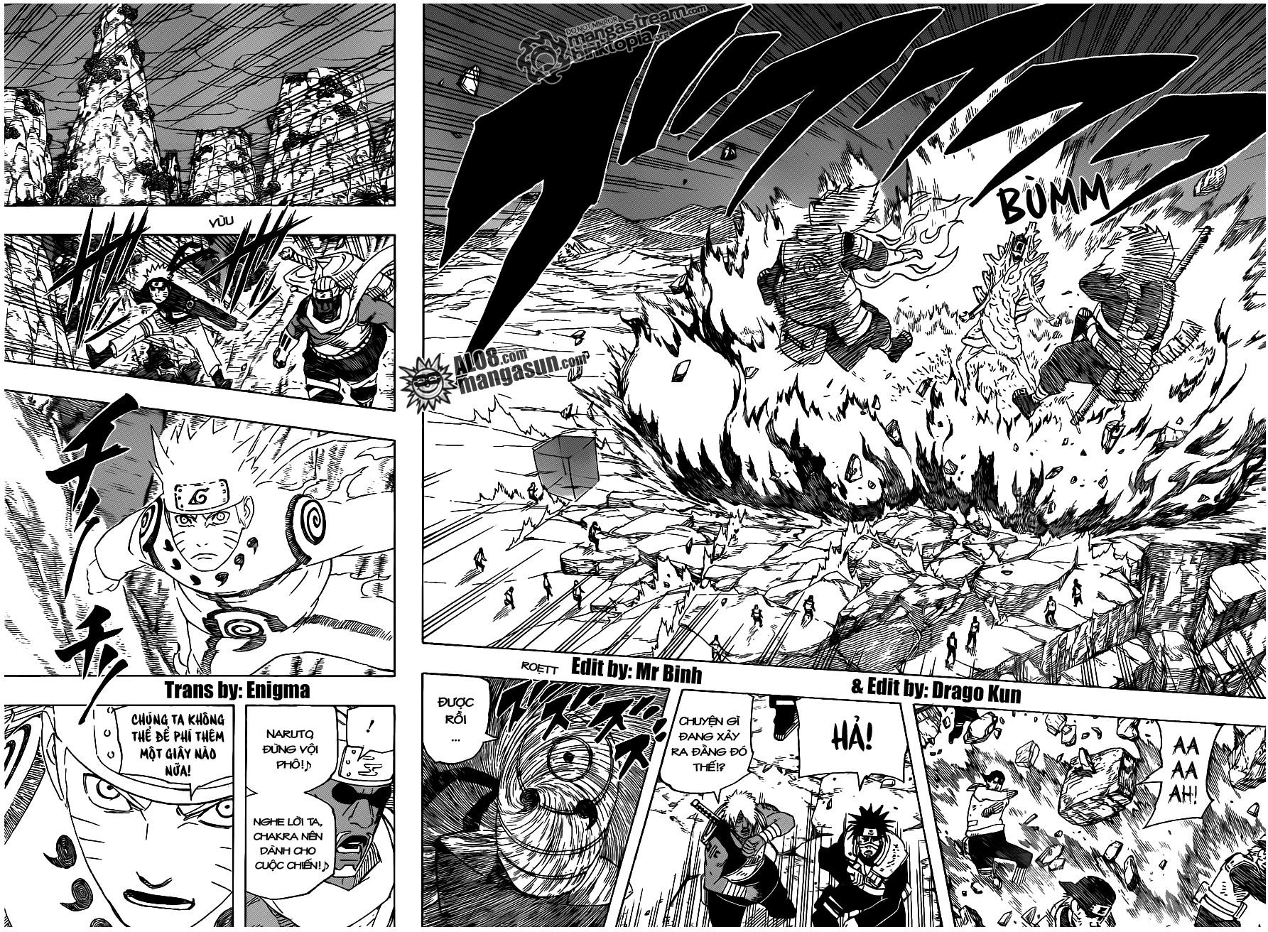 Naruto chap 537 Trang 4 - Mangak.info