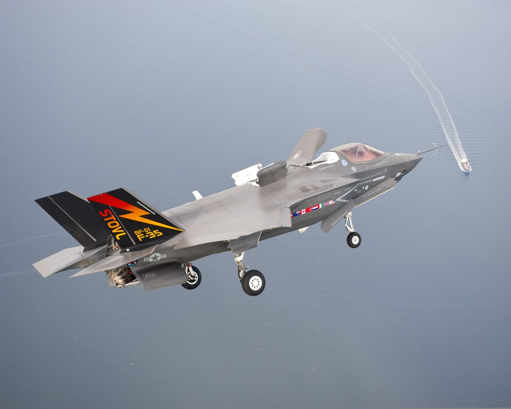 f 35 joint strike fighter The f-35a is the us air force's latest fifth-generation fighter  announced the  decision to proceed with the joint strike fighter (jsf) program.