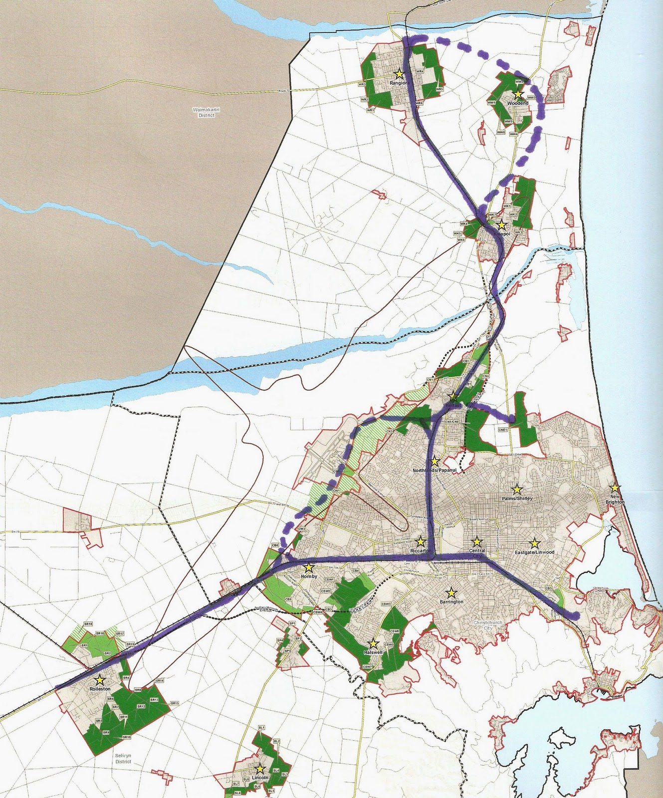 click on images to enlarge the map above was superceeded in november 2011 by the one below
