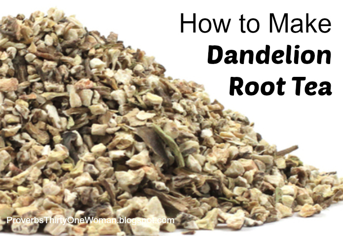 How to make roasted dandelion root tea