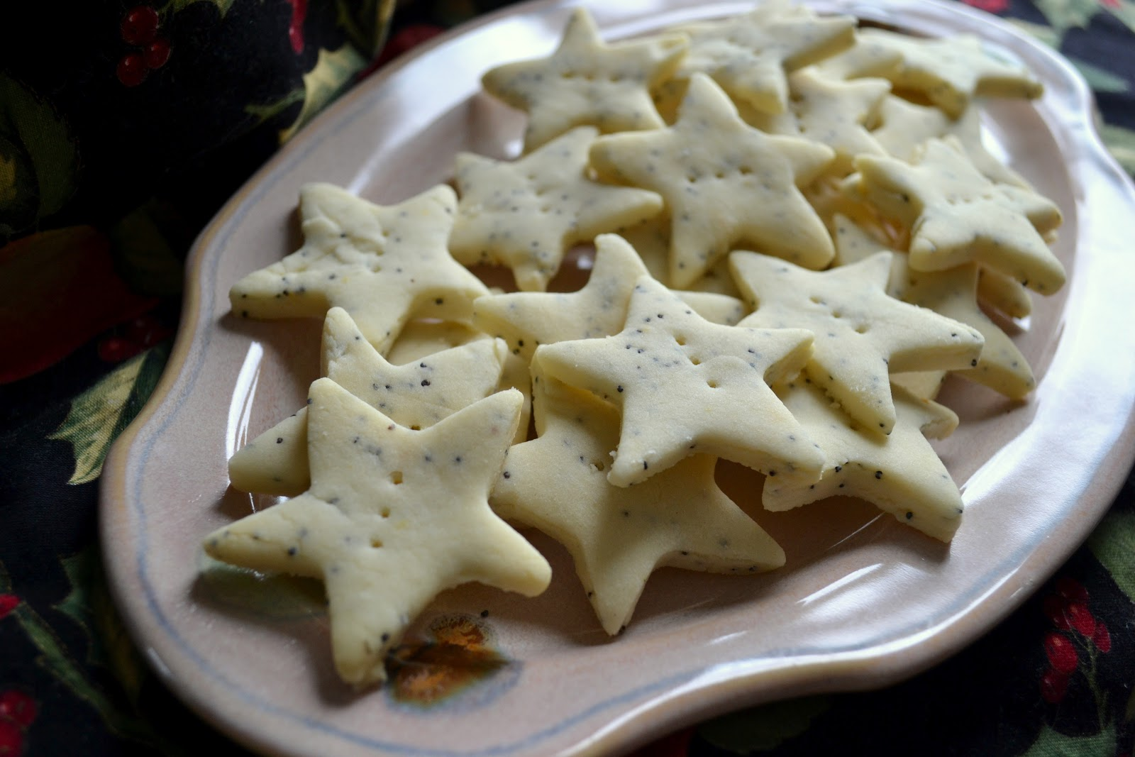... Kitchen: of vegan creations: Lemony poppy seed shortbread cookies