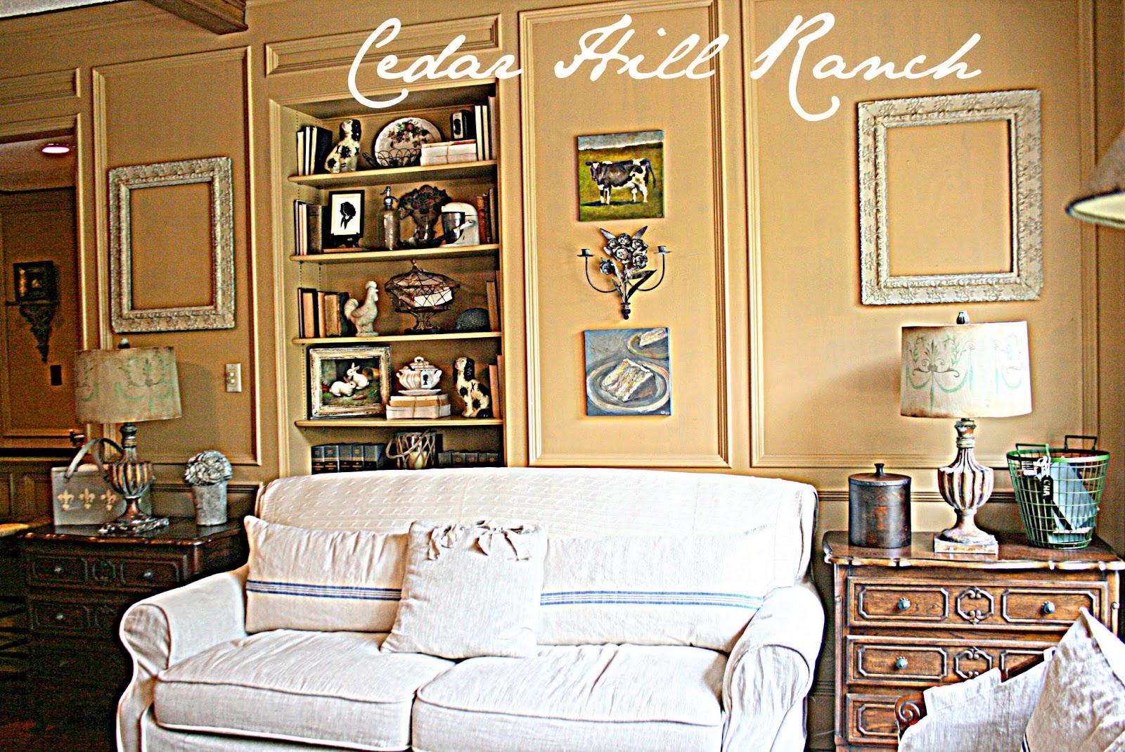 Adding White to a Room - Cedar Hill Farmhouse