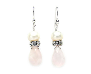 pearl drop earrings wedding