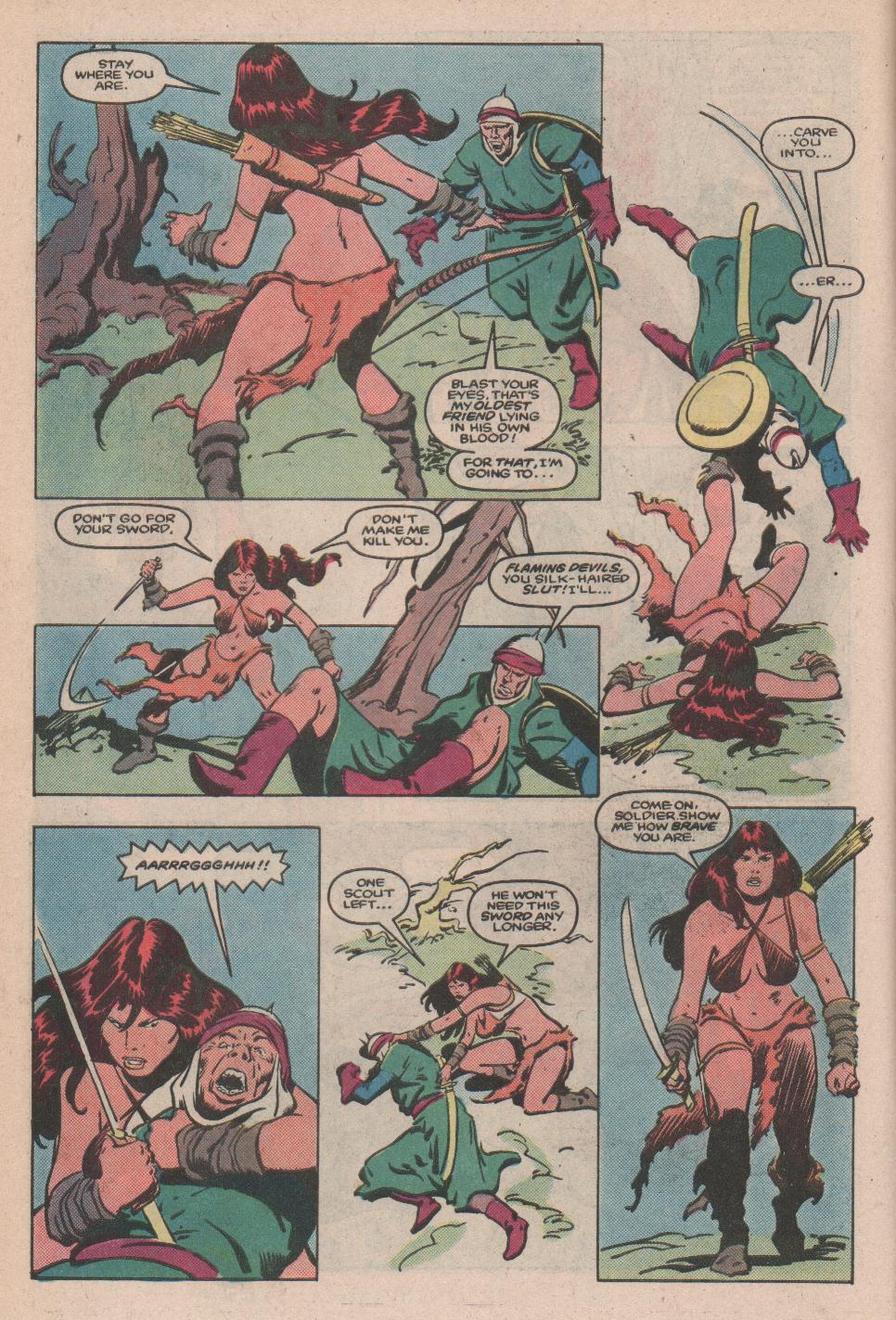 Conan the Barbarian (1970) Issue #173 #185 - English 5