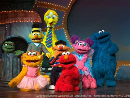 Sesame Street Live Characters