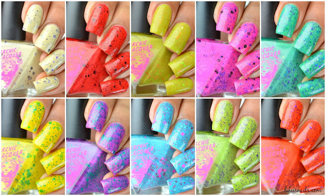 Superchic Lacquer Goosebumps Collection