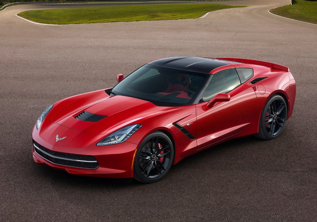 2014 Chevrolet Corvette Stingray Rear HD desktop wallpaper