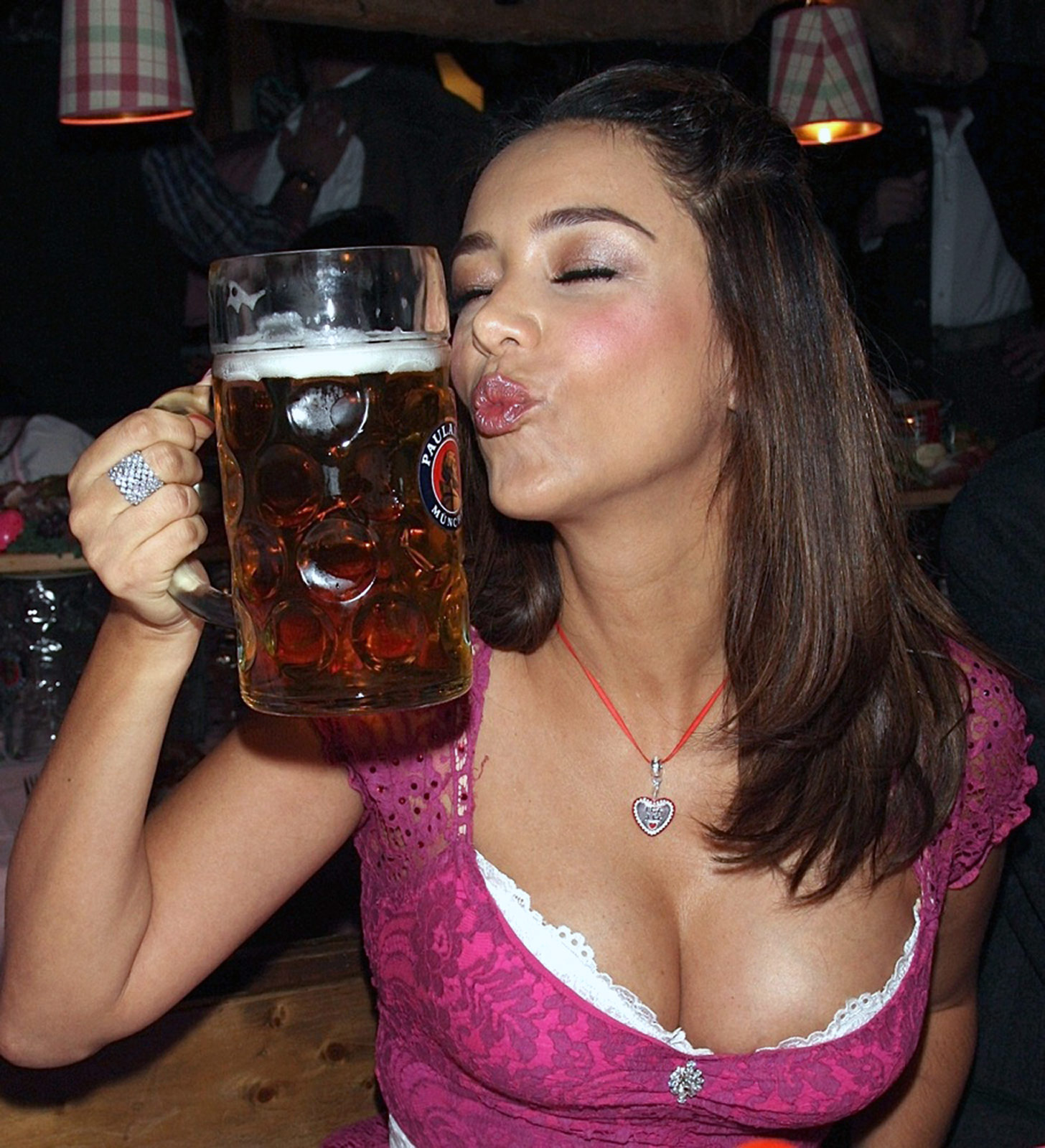 Beer makes breasts bigger