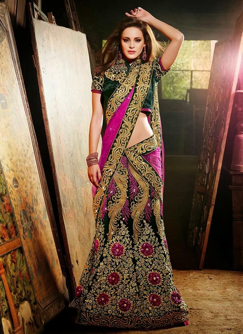 Gorgeous wedding dresses 2013 beautiful indian dresses