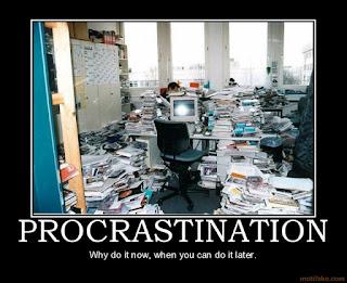procrastination humour
