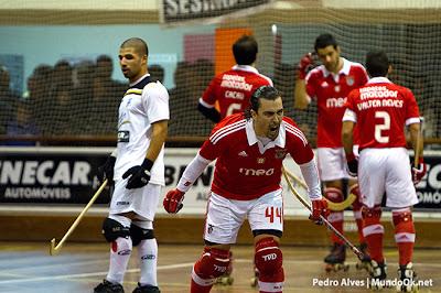 Vitória muito complicada do Benfica por 7-6, depois de estar a perder 5-2 ao intervalo!