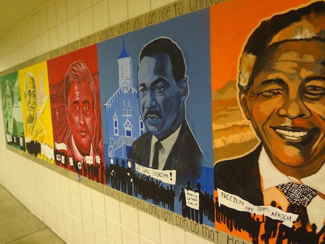 Junction City High School, Junction City High Mural, Cesar Chavez Mural