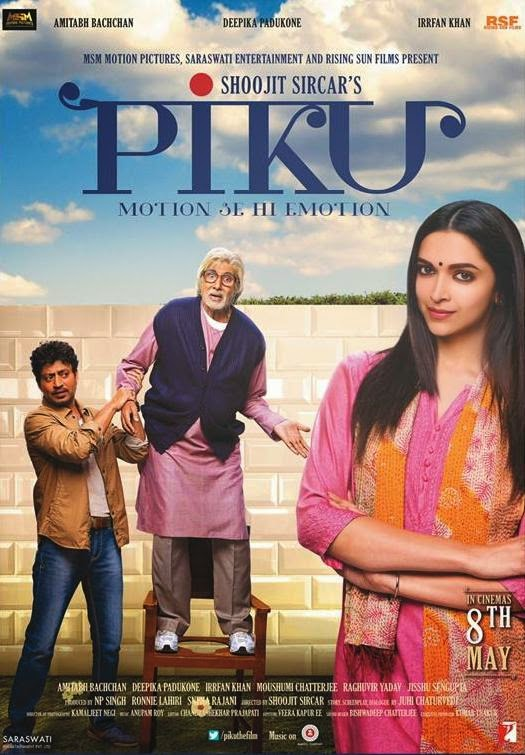 Piku (2015) Worldfree4u - Watch Online Full Movie Free Download Hindi Movie DVDRip 720P ESubs - Khatrimaza - Mp4 Movies