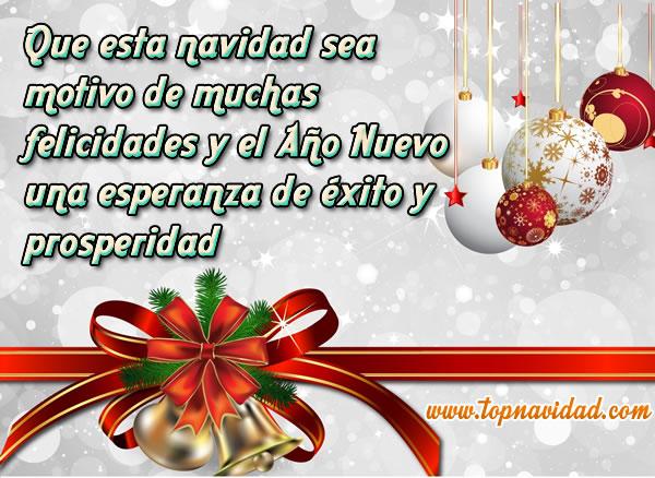 Mensajes de amor frases cortas de feliz navidad y - Frases de feliz navidad y prospero ano nuevo ...