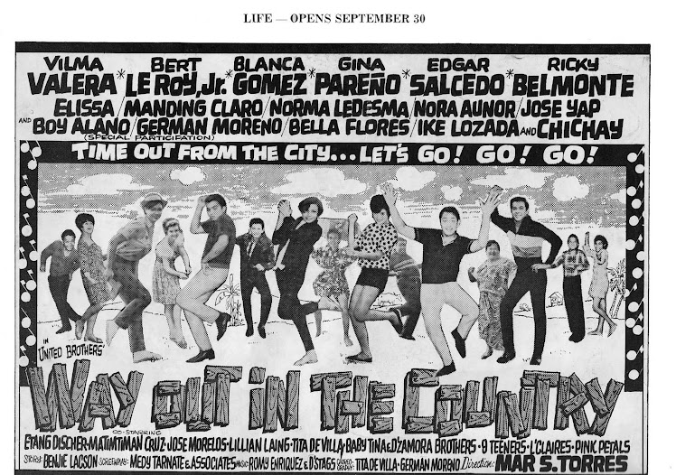 HER FIRST MOVIE: WAYOUT IN THE COUNTRY