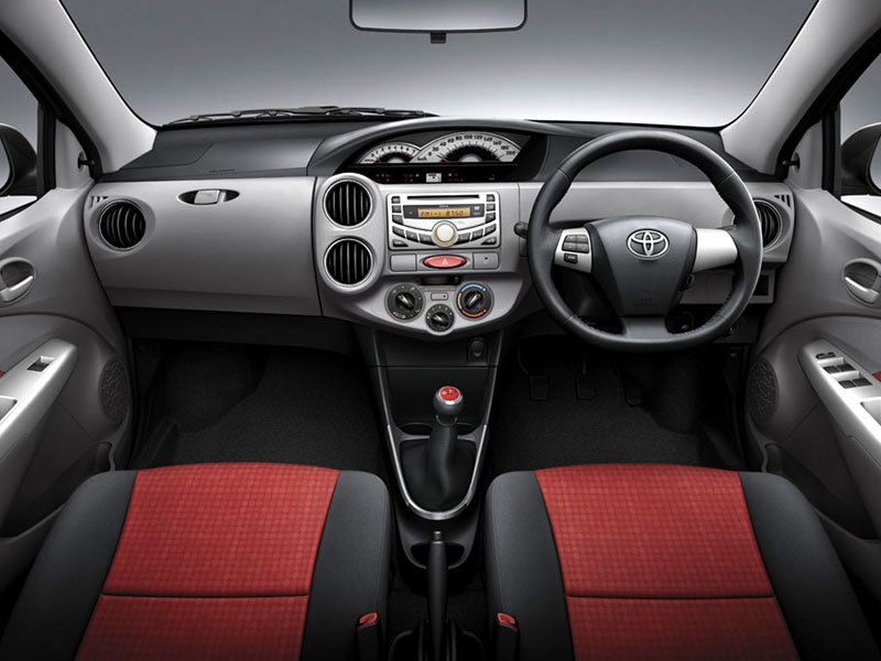 Toyota Etios Interior Car Models