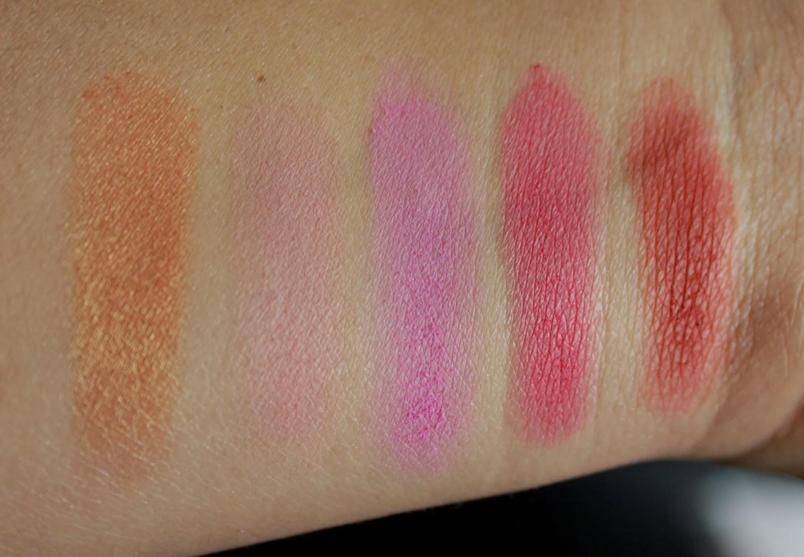 bh Cosmetics Glamorous Blush Palette